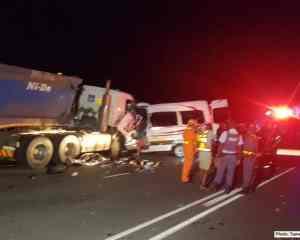 14 Killed, multiple injured in N4 four vehicle crash, Mpumalanga
