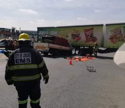 Three dead in Malibongwe two truck crash
