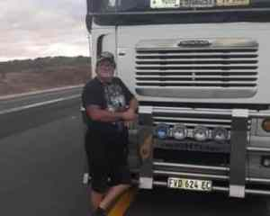 Trucker dies on his birthday after suffering heart attack while driving