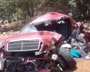 The Mercedes benz that killed a cape town driver's family on N1 in limpopo