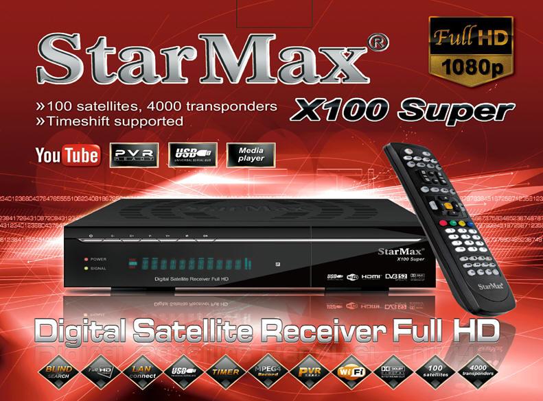رسیور starmax x100 super