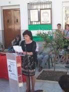 Eva Chía Luna, autora del libro