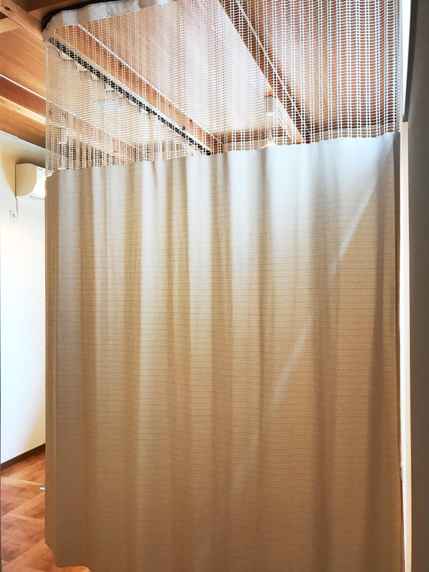 設計・デザインをした店舗(鍼灸接骨院)付き住宅の鍼灸院施術室