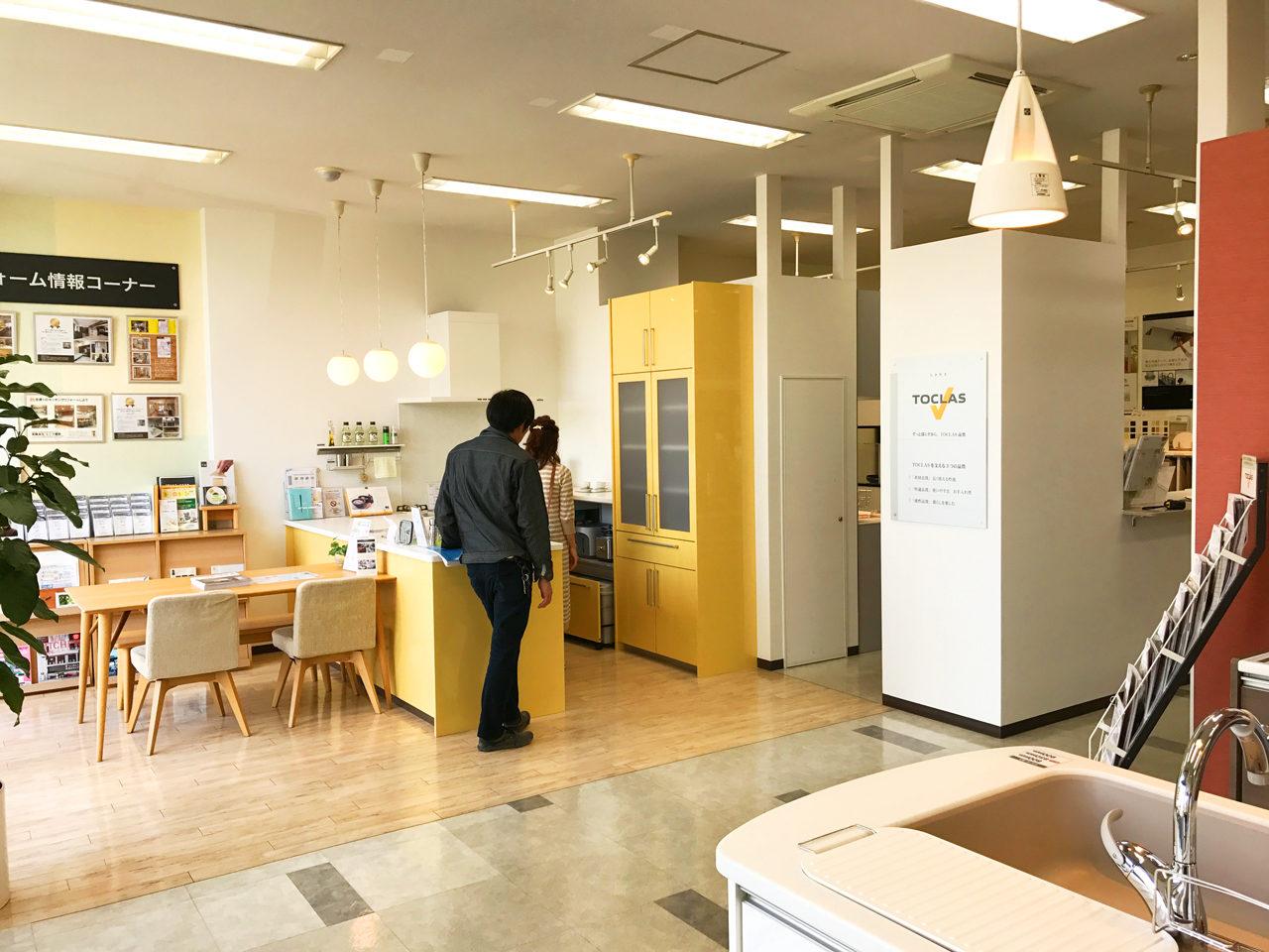 住宅を設計・デザインさせていただいているお施主様と住宅設備機器トクラス岐阜ショールームへ行ってきました