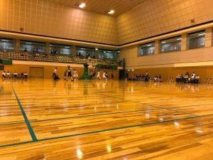 一宮市役所チームとしてバスケットボールの実業団リーグに参戦