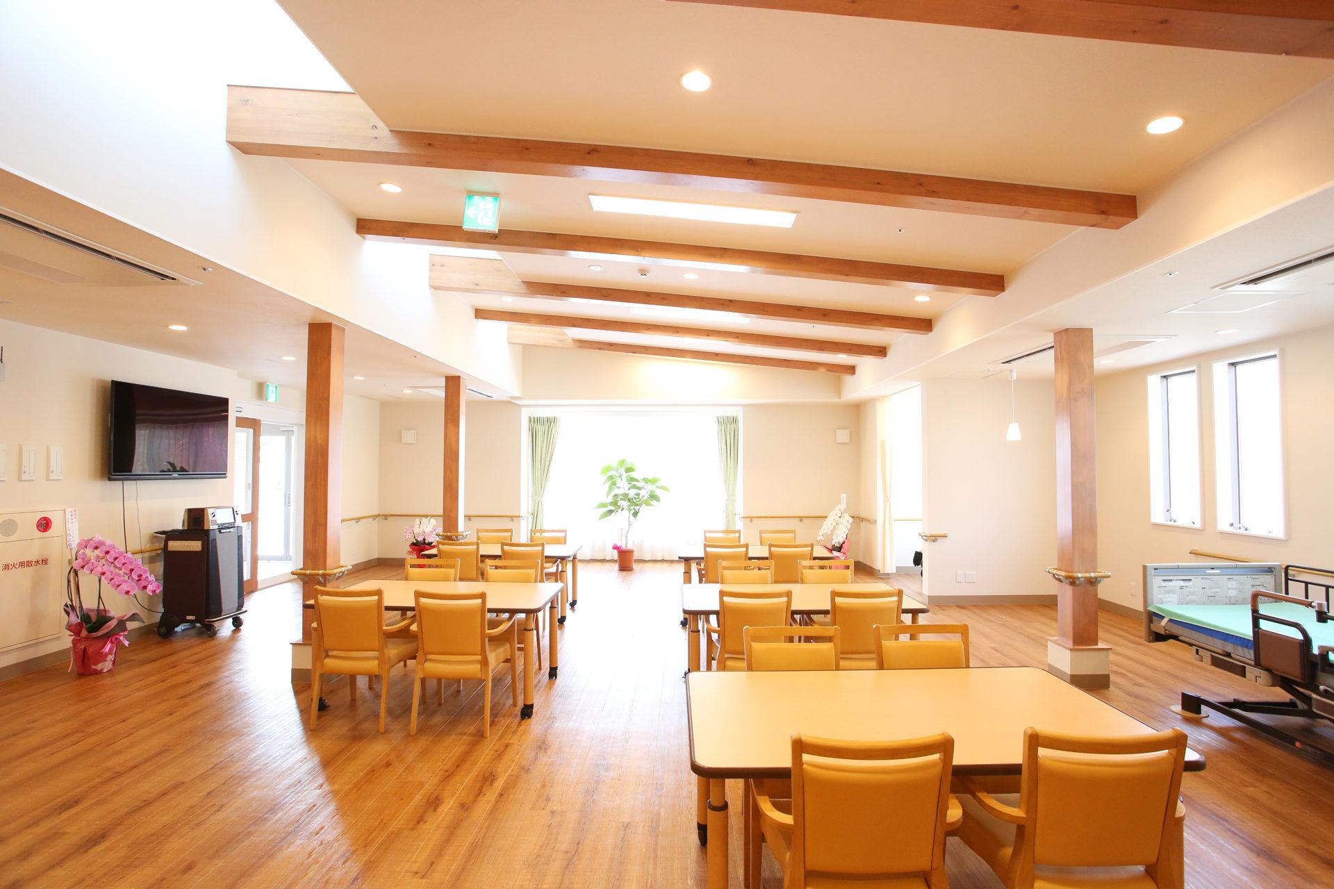 設計・デザインをさえていただいたデイサービス併設住宅型有料老人ホーム、ヘルパーステーション