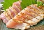 薩摩地鶏の刺身盛り