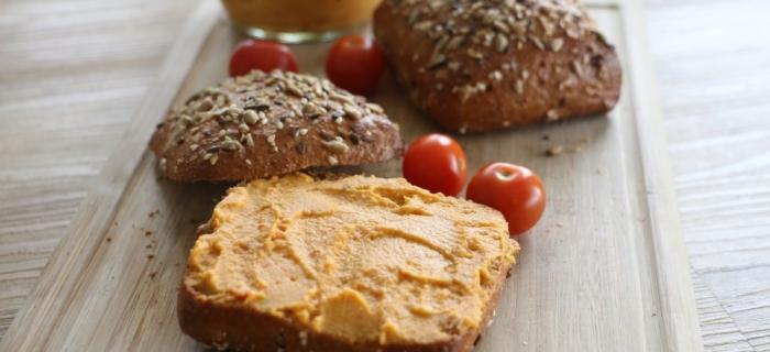 Süßkartoffel Aufstrich – Veganer Brotaufstrich