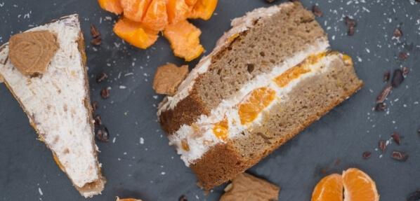 Vegane Spekulatius Torte, Kuchen, Weihnachten