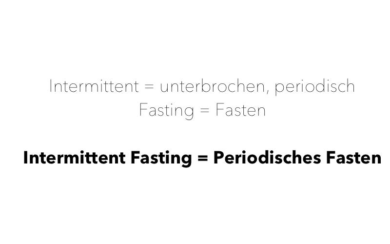 Intermittent Fasting Erklärung, einfach erklärt, Vorteile, Nachteile