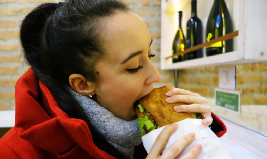 Bread-in Rom, Sandwich vegan