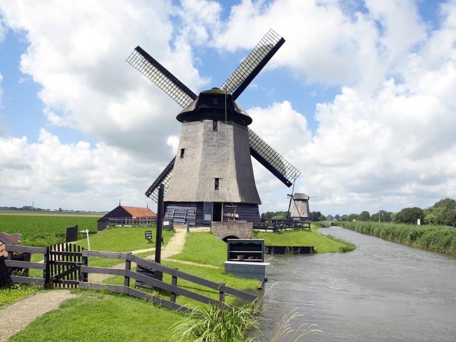 Kincir angin di Amsterdam
