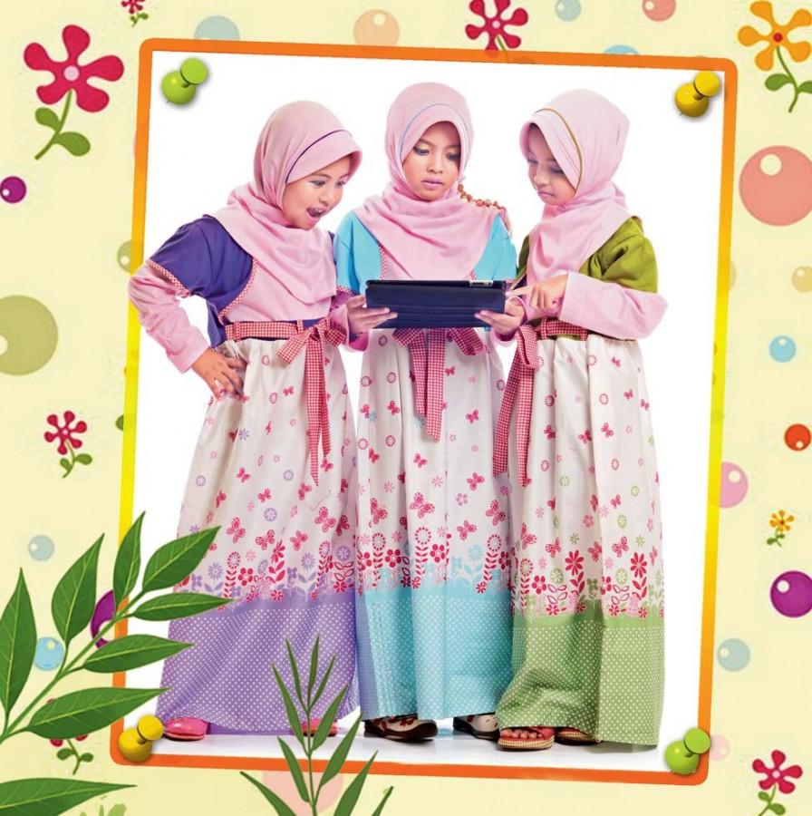 Baju Batik Anak Muslim: Baju Islami Anak
