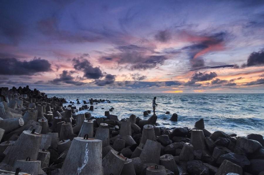 Pantai Glagah Jogja