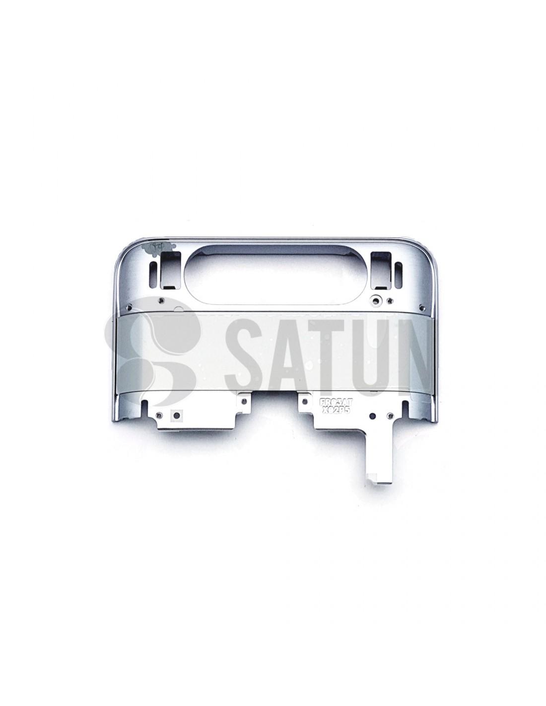 Carcasa intermedia superior Samsung Galaxy A80 plata