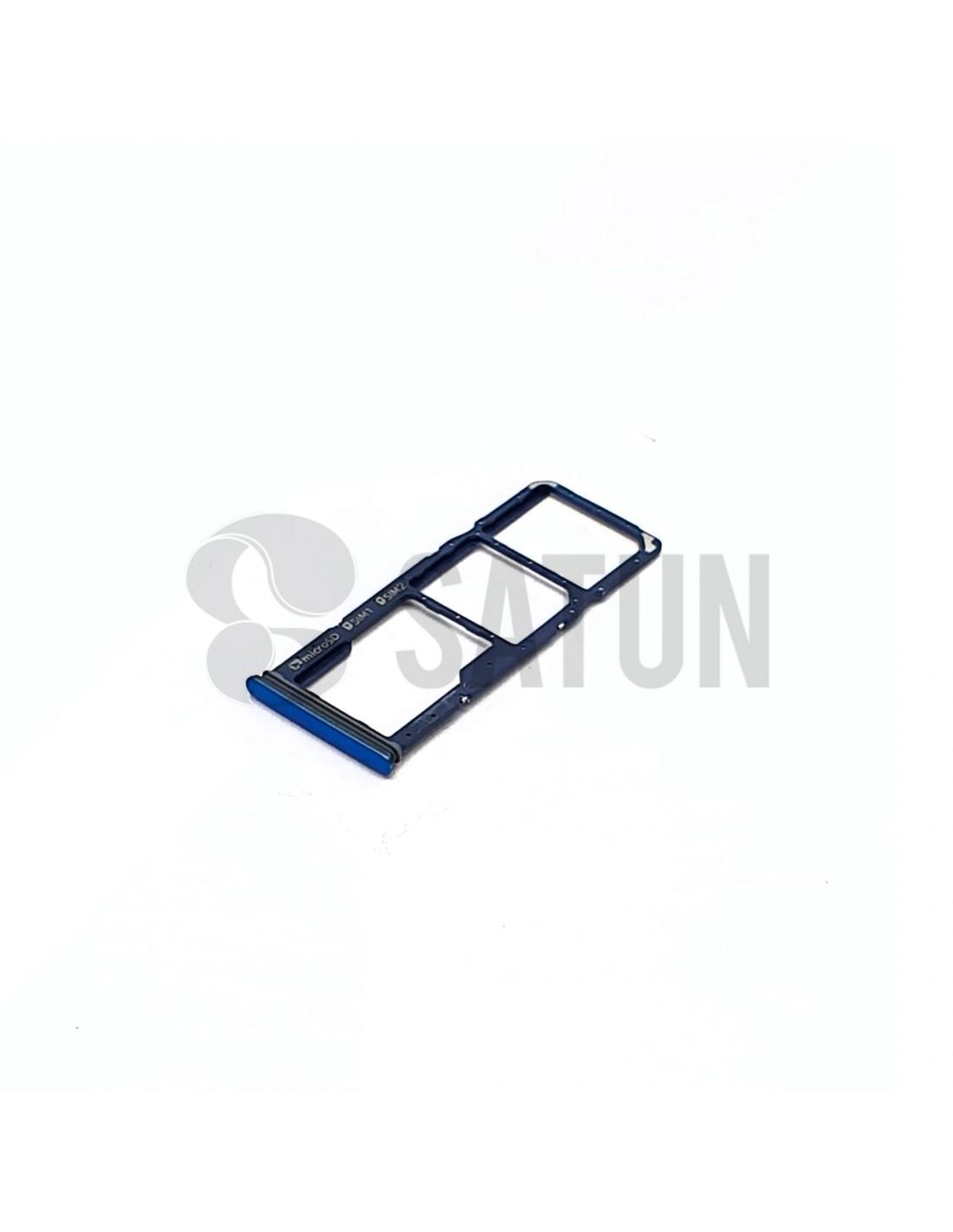 Bandeja Dual Sim y microSD Samsung Galaxy A9 2018 azul