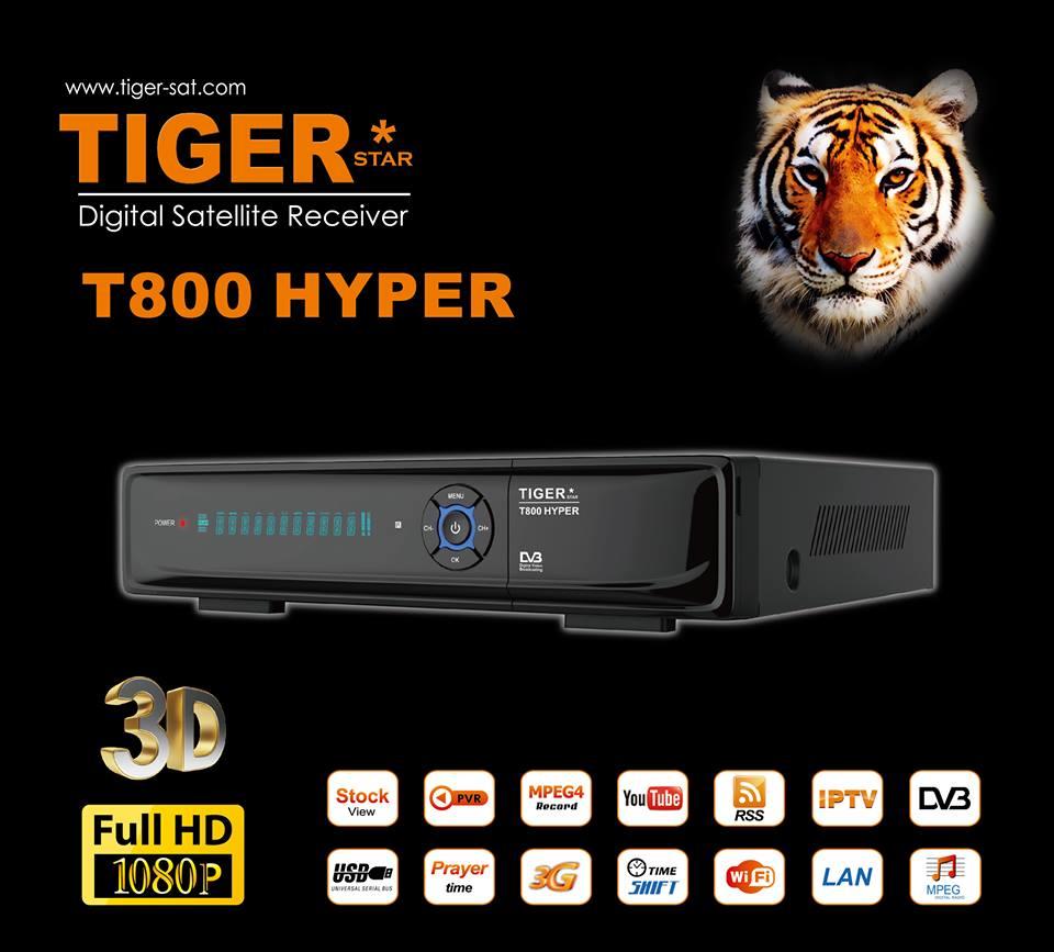 TIGER* I400 Pro TIGER* I500 Hyper Add Golden Pro update
