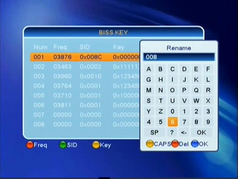 Occa AFRICA Eutelsat 5°W biss key - satunivers net