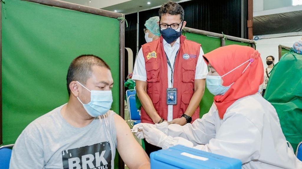 All Out Dukung 3 Juta Vaksinasi Demi Ekonomi dan Pariwisata Pulih