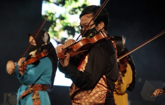 2nd Jogja Violin Festival, Kampanye Indonesia Lawan Covid-19