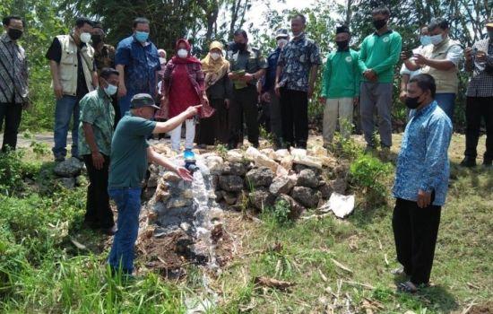 BKSDA Yogyakarta Bangun Sumur Bor Untuk Masyarakat Sekitar