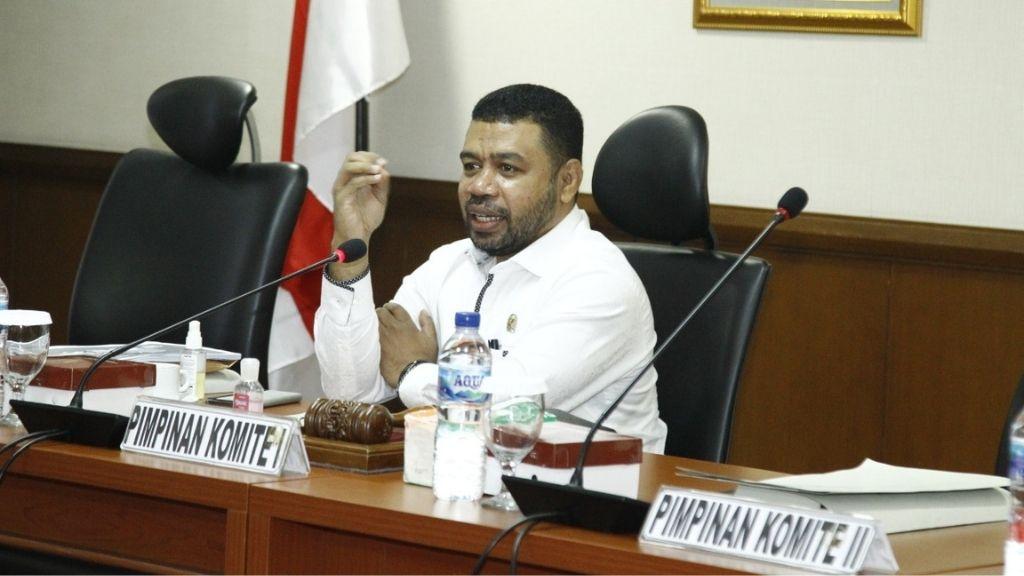 Senator Filep Wamafma Tanggapi Gugatan Perdata LBP ke Haris