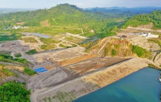 Bendungan Rukoh Pidie Aceh Mampu Tampung 128,66 Juta m3 Air