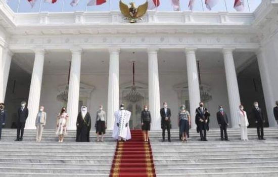 Presiden Jokowi Terima Surat Kepercayaan 9 Duta Besar Negara Sahabat