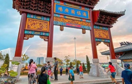 China Town-nya PIK, Pantjoran Sajikan Suasana Ala China Town Amerika