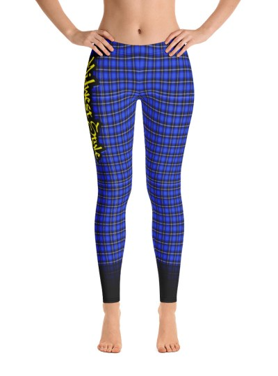 Midwest Style Yoga Pants – Blue