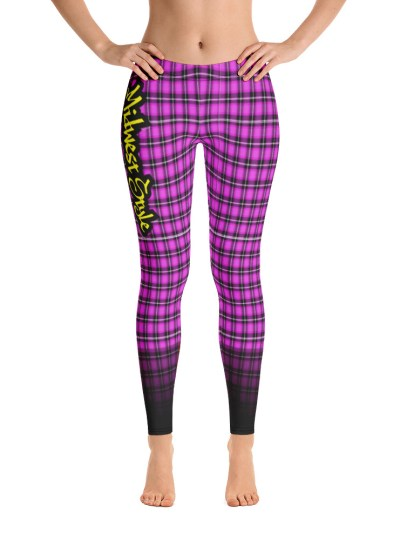 Midwest Style Yoga Pants – Pink