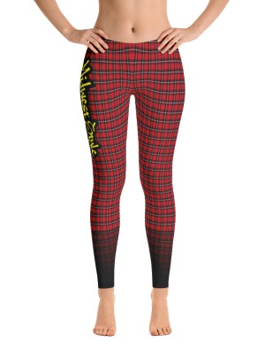 Midwest Style Yoga Pants – Red