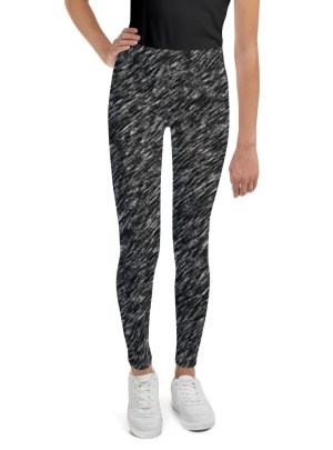 Liquid Metal Youth Leggings