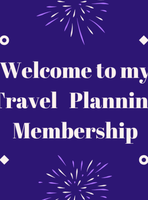 Travel Planning Webinar (Lifetime Membership)