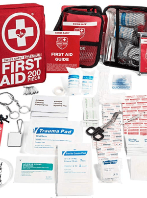 200-Piece Professional First Aid Kit