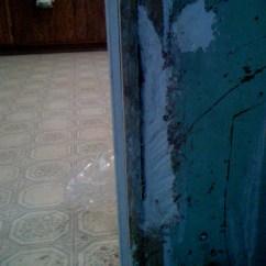All Wood Kitchen Table Motion Faucet Repair Trim Around Doorway - Saturdays With Stu
