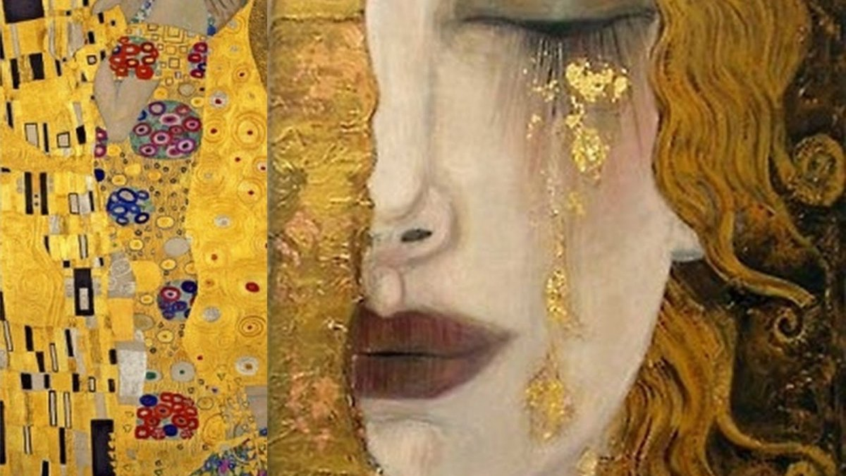 gustav-klimt-painting gold on saturdaysoul.com