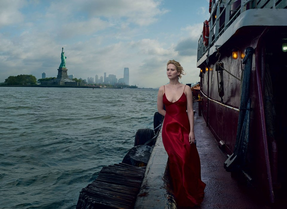 Annie-leibovitz-new-work-jennifer-lawrence-vogue-september-cover-2017 - saturday soul