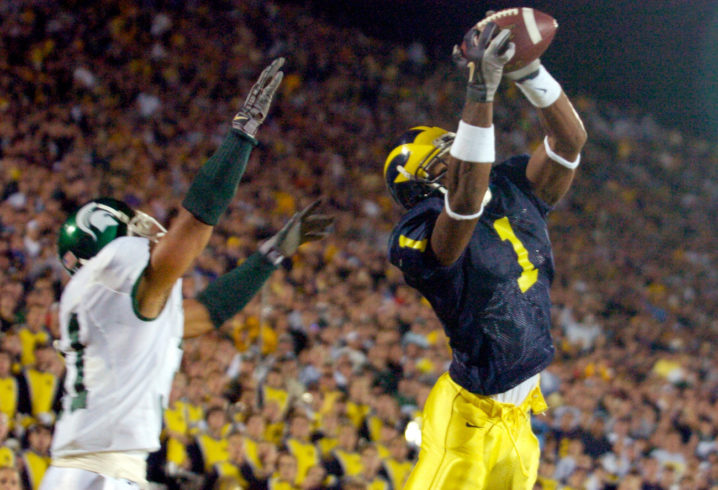 Former Michigan WR Braylon Edwards ready for rivalry game