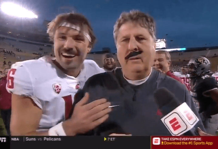 WATCH Mike Leach provides humorous breakdown of Gardner