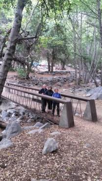 Bridge to the falls trail