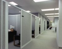 Cubicle Dividers   Los Angeles Wall Partitions, Aluminum ...