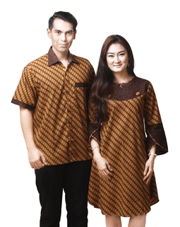 model baju batik couple terbaru 2016