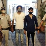 Two civil defense marshals caught red handed for snatching mobile phones