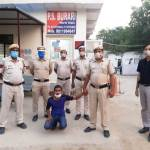 Arrested for slitting woman's throat and setting house on fire in Burari