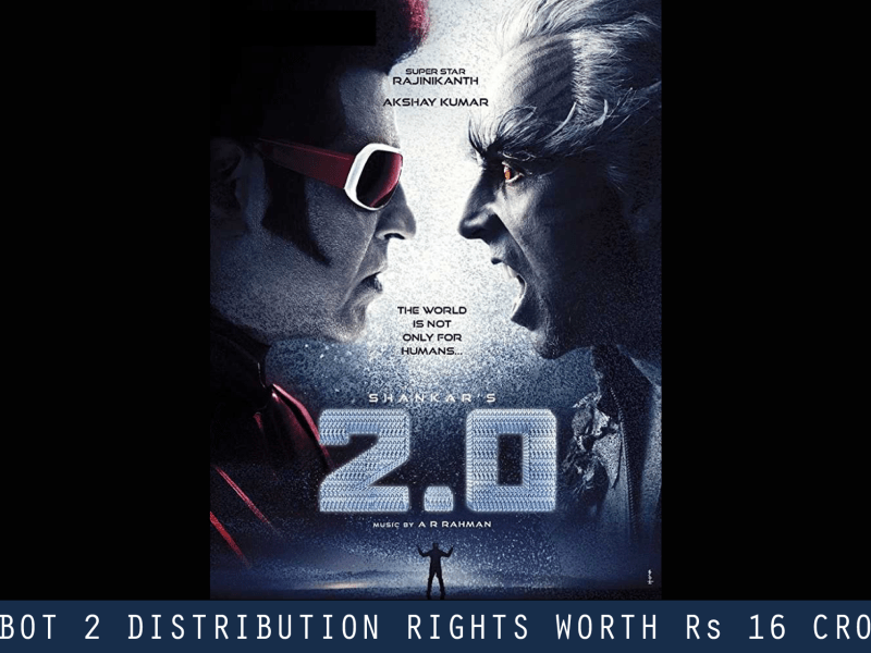 robot 2 distribution rights worth rs 16 crore