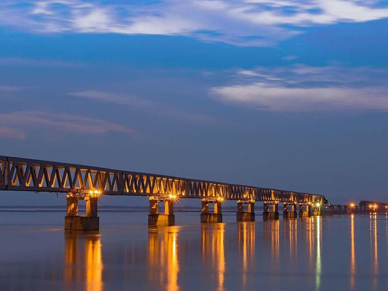 Interesting Facts About Longest Railroad Bridge in India