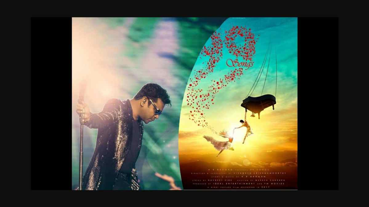 AR Rahman Writes and Produce his First Film called 99 Songs