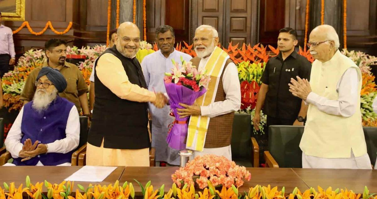 Amit Shah likely to Join PM Modi Cabinet