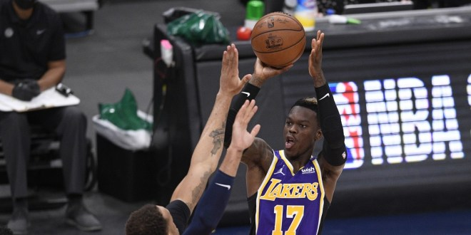 1620067582 Lakers guard Dennis Schroder likely will miss 10 14 days